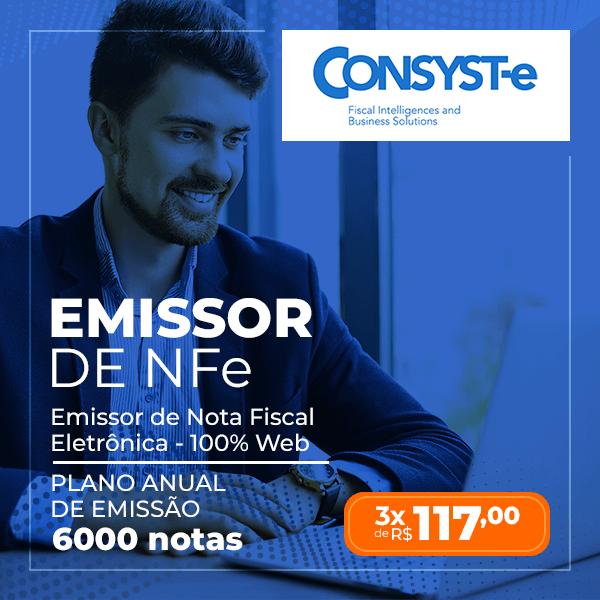 Emissor NFe - Plano Anual 6000 Notas - Consyste