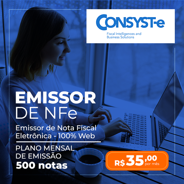 Emissor NFe - Plano Mensal 500 Notas - Consyste