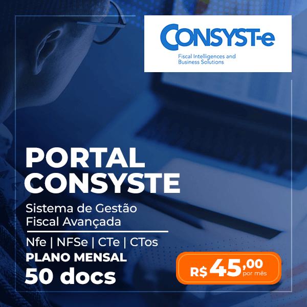 Portal Consyste - Plano Mensal 50 docs